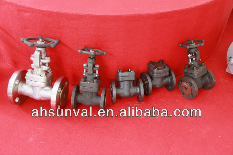 DIN non rising stem carbon steel gate valve
