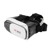 2nd Generation VR BOX II 2.0 3D google glasses google cardboard v2 Virtual Reality VR Glasses watch movies 3d