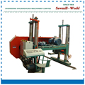 big band saw machine band sawmill with diesel engine large log cutting horizontal band saw