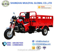 Petrol Cargo Tricycle 250cc Open Cabin Trike Water Cooling Tricycle