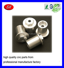 custom steel nickel plating cnc machined rock crawler install hex wheels for rc model car part
