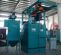new Portable Q37 Shot Blasting Machine / Cleaning Equipment