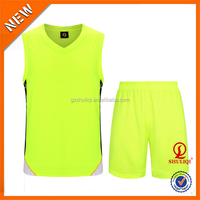 wholesale men sport wear, european reversible blank basketball jersey H-630
