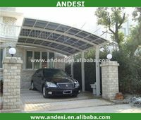 snow shelter car canopy car porch dark color