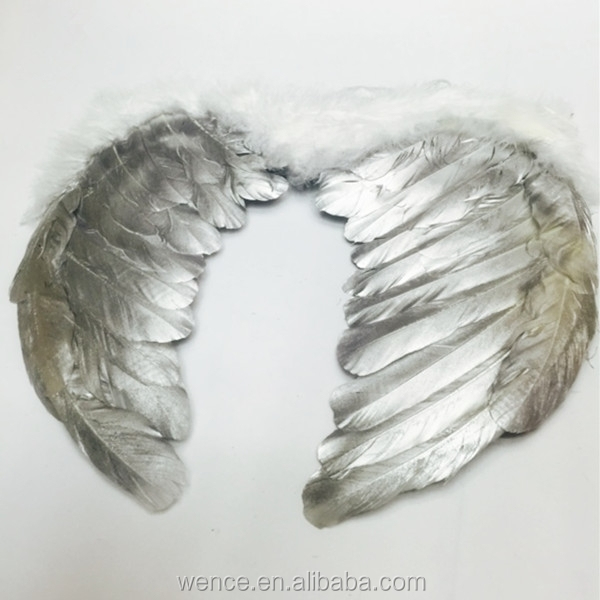 2015 feather angel wing for party decoration,goose feather angel wing
