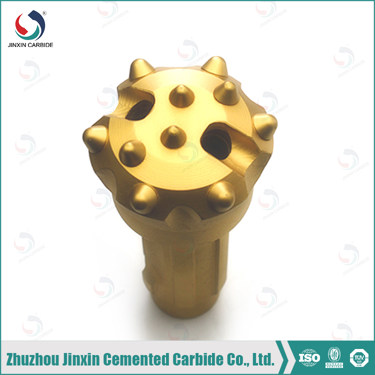 wearable DHD series SD4115 8 spline joint High air pressure DTH bit,button bit