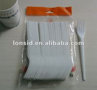 "6.5"" long FDA or EU approval economical disposable plastic dinnerware"