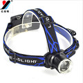 Headlamp Waterproof Zoomable 1000 Lumen XML T6 LED Flashlight/Head Led/Head Lamp 18650 with CE ROHS Certificate with for Sale