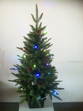 singing christmas tree with led light