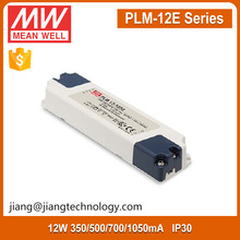 Meanwell PLM-12-1050 12W 1050mA Constant Current LED Driver 220Vac