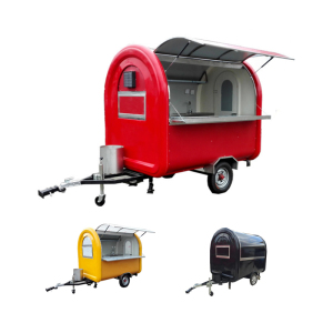 High Quality Food Truck Mobile Food Trailer for Snack Food Selling