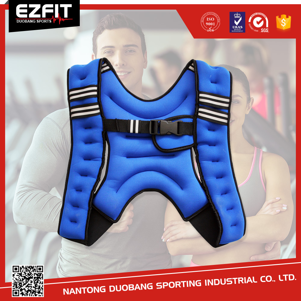 5kg Adjustable Neoprene Weighted Vest