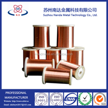 china manufacture 0.8mm enameled copper clad aluminum wire for transformer