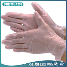 240mm and 290mm disposable vinyl gloves, different wegith vinyl gloves, powdered or powder free vinyl gloves