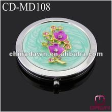 flower compact mirror of 2012 wedding gift CD-MD108