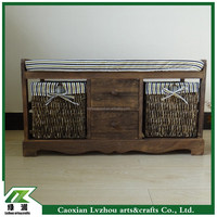 living room furniture wood bench/shoe changing bench/wooden shoe bench