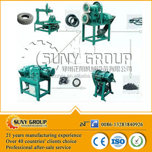 High efficiency waste tyres and plastic recycling plant equipment