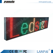 P16 Outdoor Waterproof LED Street Display Sign Parking Display Sign