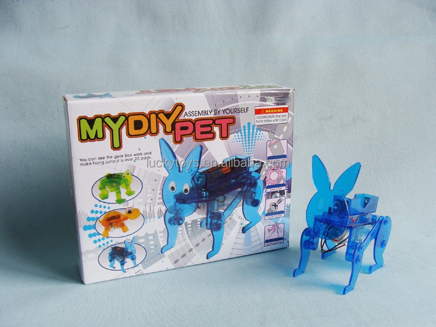 DIY Educational toy for kids electronic DIY rabbit toys