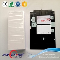 Epson R270 Plastic Card Tray And Inkjet Printable PVC Card