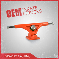 High precision gravity casting long skateboard truck, Pro quality skateboard trucks in 7inch size