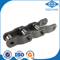slat top cranked heavy duty chain/conveyor chains for bottle,new style large pitch anchor cranked heavy duty chain