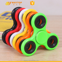 2017 Colorful Popular Crazy Office Decompression Fidget Spinner Toy