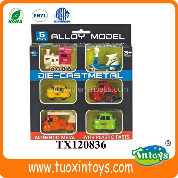 Alloy Metal Slide Truck 1:64 Diecast Container Truck