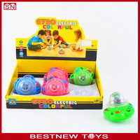 Rotation Chain Link Toy Spinning Tops Light and Music