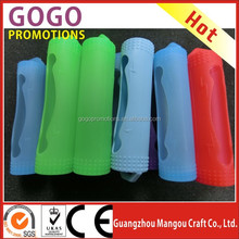 High quality e cigarette silicone case holder for 18650 battery, Vapor ecig 18650 Battery silicon case by factory