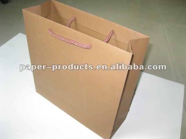 hot product modern custom paper made bag