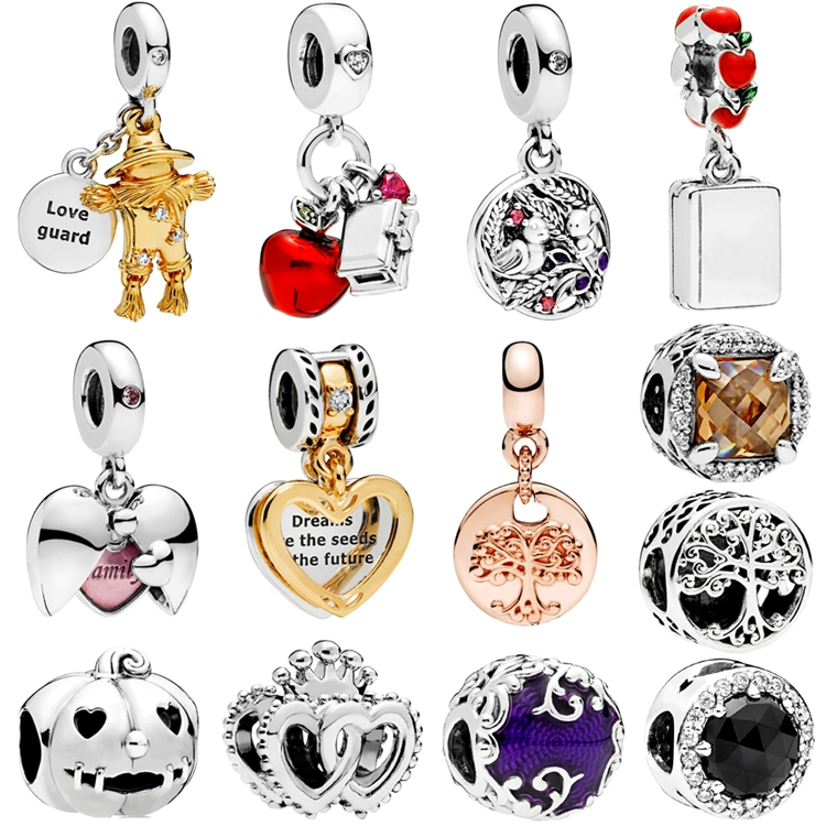2018 latest 925 sterling silver fit pandoras charms wholesale 925 silver charms fit pandoras