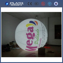 LED light helium balloon, giant inflatable lighting balloon, inflatable helium blimp