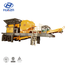 2018 Latest Price 200 tph Jaw Crusher Mobile Stone Crushing Plant