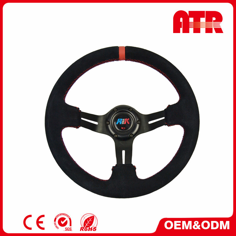 High quality leather / Microfiber PU 320mm tractor steering wheel