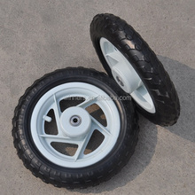"10"" 12"" kids bicycle trailer wheel foldable wagon wheel"