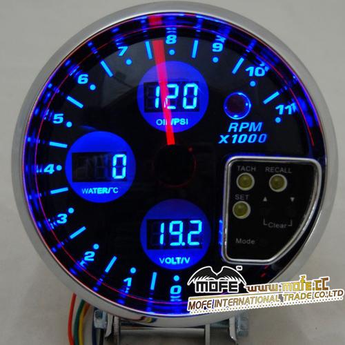 Custom Digital Gauges : High quality universal racing digital custom car gauges
