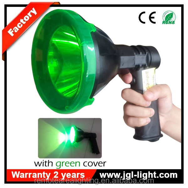 2015 guangzhou factory portable power source Hot Sell camping lantern Model T61-LED handheld spotlight