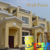 Scratch-retardant exterior paint thick plaster textured exterior wall coating