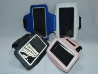 Neoprene mobile phone armband for Samsung S4& Iphone 5C