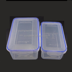 clear hermetically sealed box food packing container microwave safe