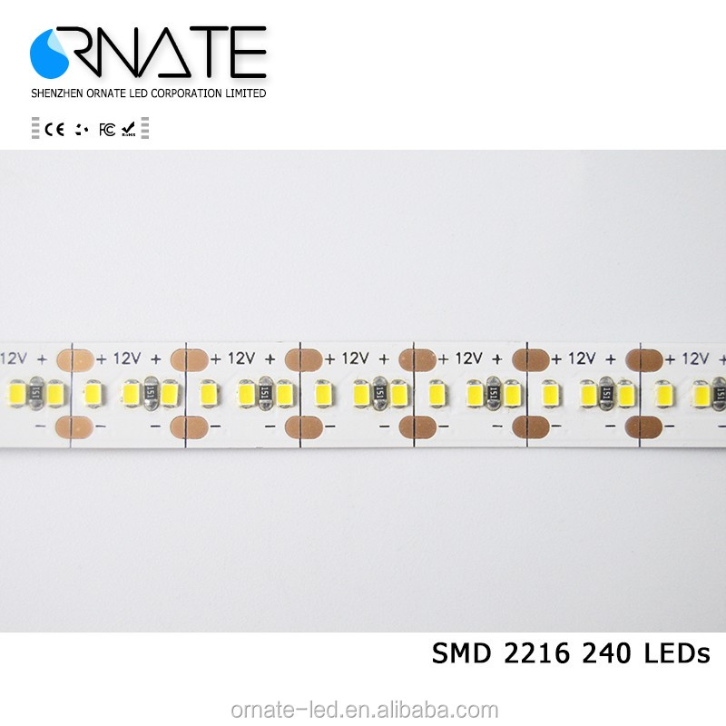 12/24v Warm White 2700k 3000k SMD 2216 Led Light Strips