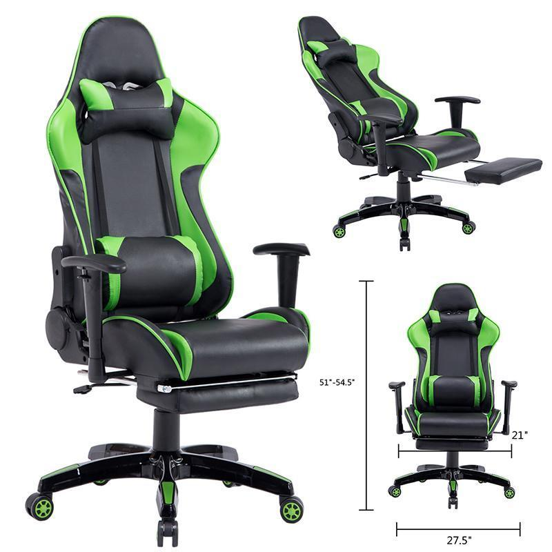 Executive Racing Style High Back Reclining Office Computer Chair Gaming Chair