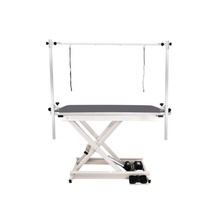 Electric veterinary medical equipment dog grooming table in pet clinic for animal