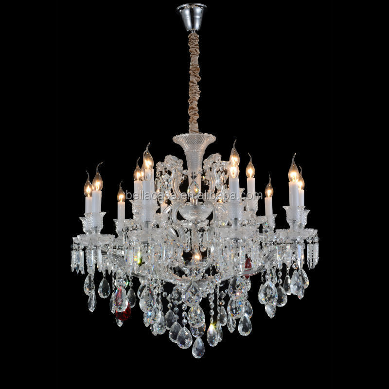 Hot Sales Antique Baccarat 15 Light Silver Crystal Chandelier For Villa - Hot Sales Antique Baccarat 15 Light Silver Crystal Chandelier For