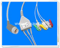 Setolink 8 Pin One Piece ECG Cable Manufacture in ShenZhen