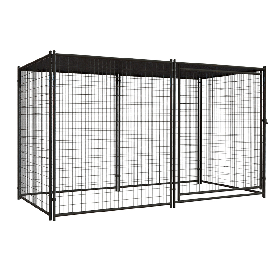 Chain link dog kennel lowes for wholesales Huilong factory