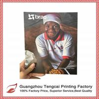 China low cost glossy magazine custom printing factory with best quality