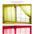 fancy whole sale embroidered sheer voile curtain fabric,