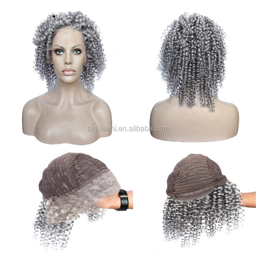argent gris cheveux humains perruque de lacet sans colle full lace perruques de cheveux humains. Black Bedroom Furniture Sets. Home Design Ideas